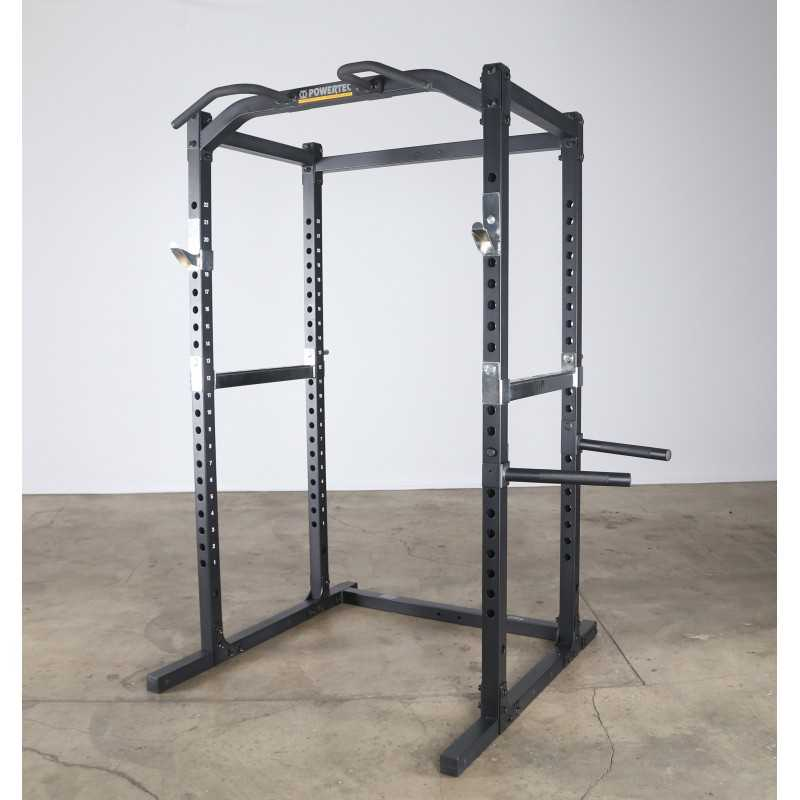 how to use a power rack