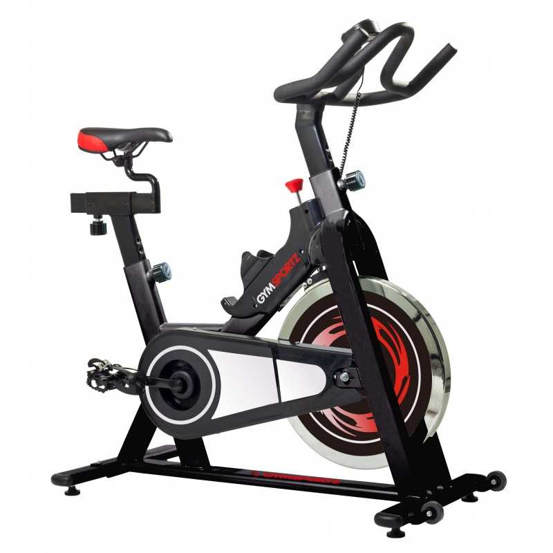 115 b spin bike gymsportz fitness. Black Bedroom Furniture Sets. Home Design Ideas