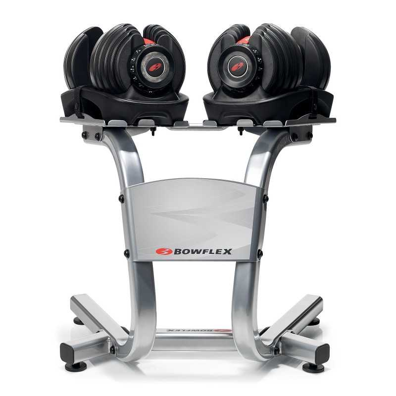 Bowflex SelectTech Dumbbells No more picking up 30 different dumbbells to give you the results you want! With just the turn of a dial you can automatically change your resistance from 5 lb. all the way up to lb. of weight/5.