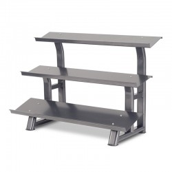 3 Tier Flat Tray Dumbbell Rack