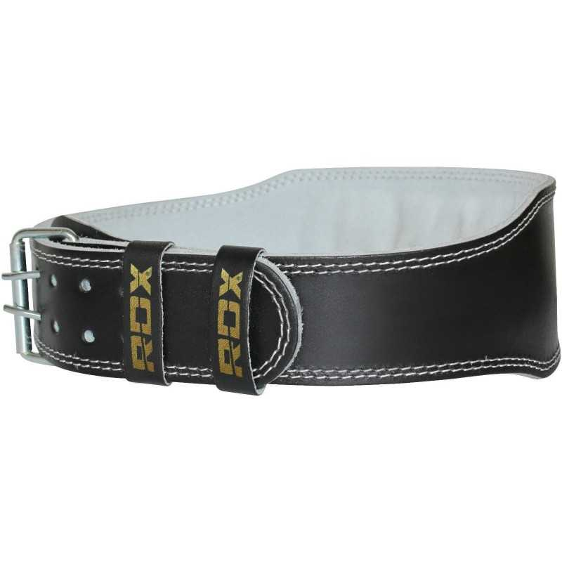 leather 4 quot padded lifting belt gymsportz fitness