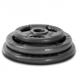 125KG CAST IRON OLYMPIC BARBELL KIT