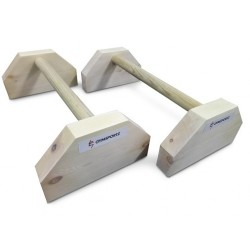 Wooden Parallettes (Short)