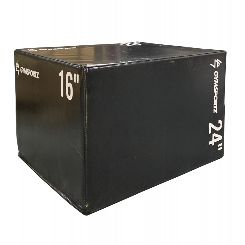 Foam Padded Wooden Plyo Box (Medium)
