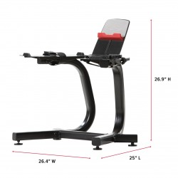 SelectTech Stand with Media Rack