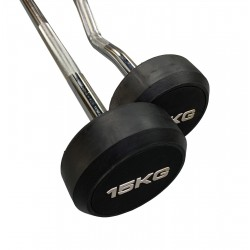 Fixed Weight Barbell Set (10 Barbells)