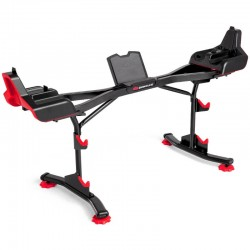 BOWFLEX SELECTTECH BARBELL STAND WITH MEDIA RACK